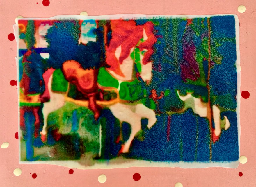 Carousel Pony (Faux Carnival Souvenir)
